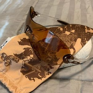 Oakley dart board bronze women's sunglasses NEW